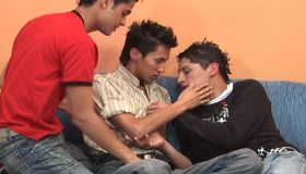 Leandro, Miguel and Sebastian
