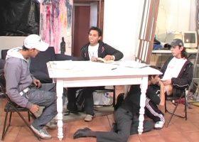 Dano, Benacio, Saul and Claudio