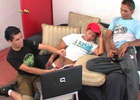 Alex, Oscar and Sergio