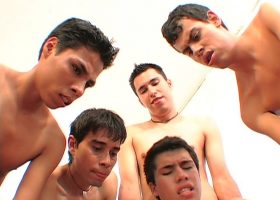 Latin Boys Sex Orgy Part 9